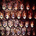 Nevers, couvent Saint Gildard, bougies Bernadette (58)