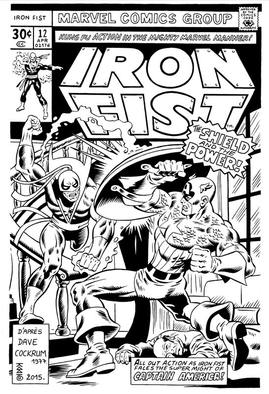 Miniature Iron Fist 12