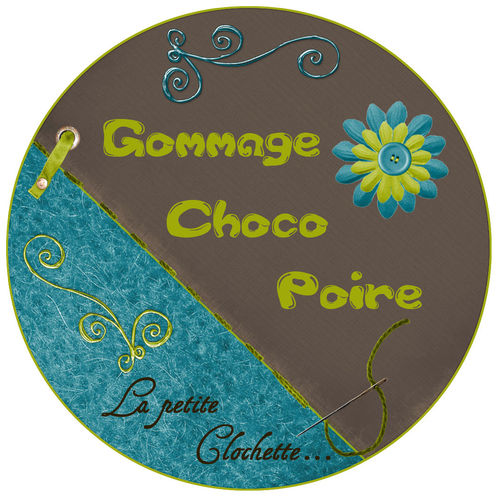 Gommage choco poire