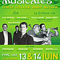 Rencontre musicales 2015