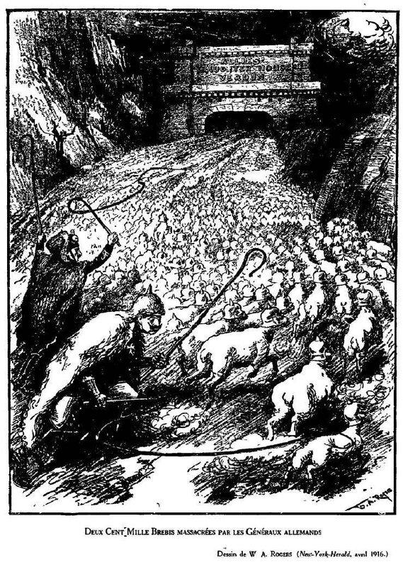 Dessins de guerre Verdun63