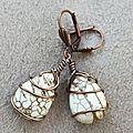 BO pierre et cuivre torsadé