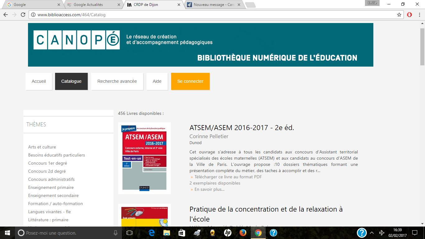 Canopé : un service de prêt de livres numériques avec Numilog