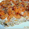 Tarte moelleuse aux flocons d'avoine et aux carottes