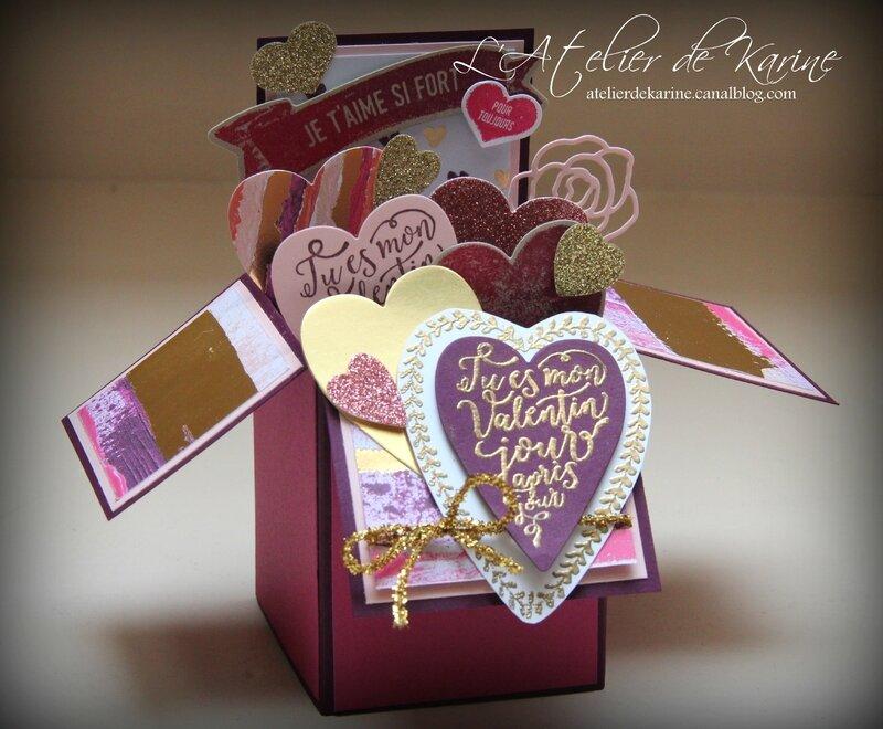 Carte Saint Valentin - Je t'aime si Fort