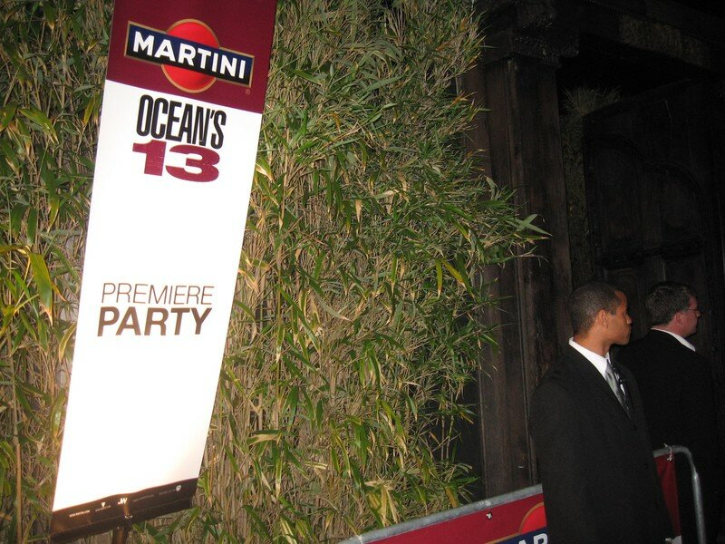 Festival Cannes 2007 Ocean Martini