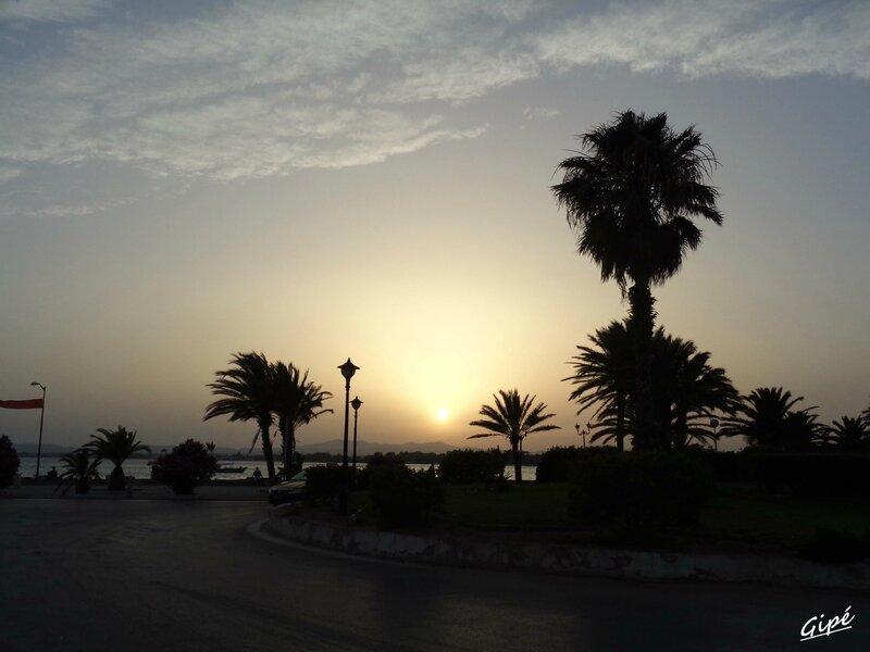 Le coucher de soleil du mardi 8 juillet 2014