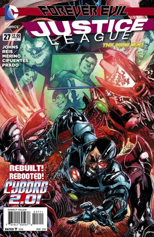 new 52 justice league 27
