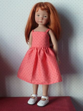 robe rose 017