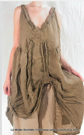 2-MP Gracie sun dress flax