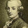 NICOLAS GILBERT, novembre 1780