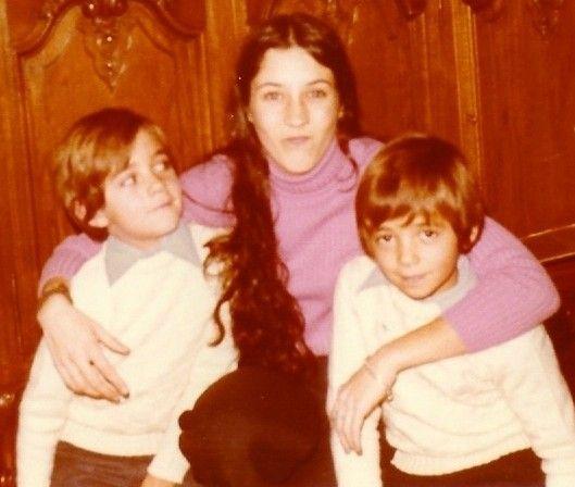 1973 -Noël avec Monik