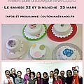 À lyon, ateliers pâte à sucre le 22 et 23 mars 2014
