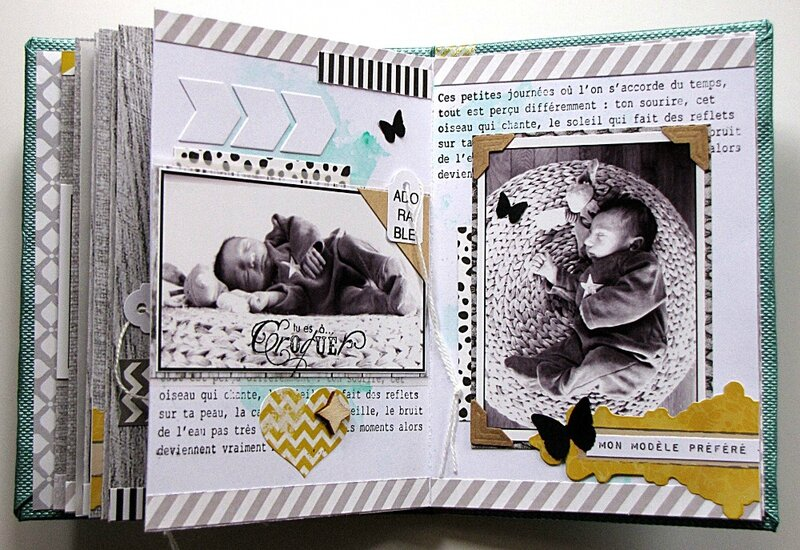 Album Treasure Page 16 17 par Jasmina