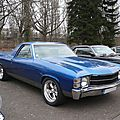 CHEVROLET El Camino 2door pick-up 1971 Strasbourg - Rétrorencard