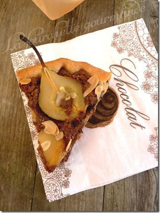 Tarte amandine au Nutella (2)