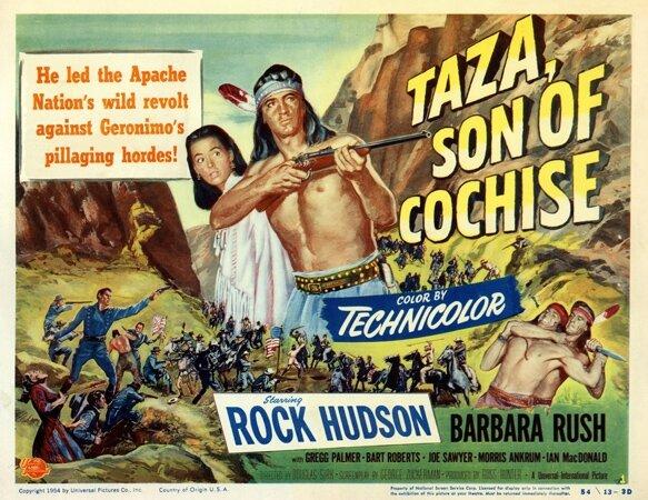 affiche Taza fils de Cochise