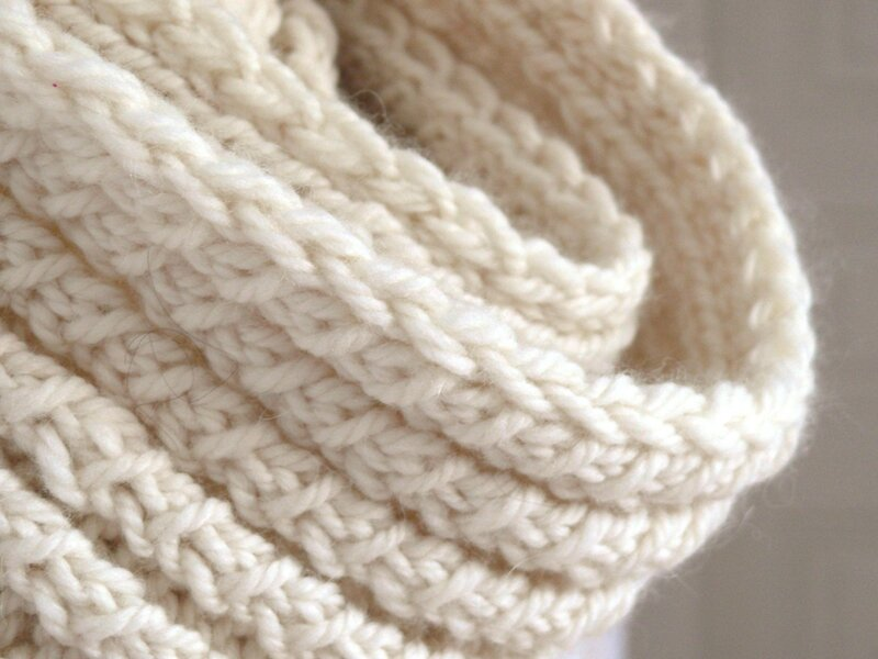 Beliebt DIY: Milk, le dernier snood de l'hiver - Bee made QX35