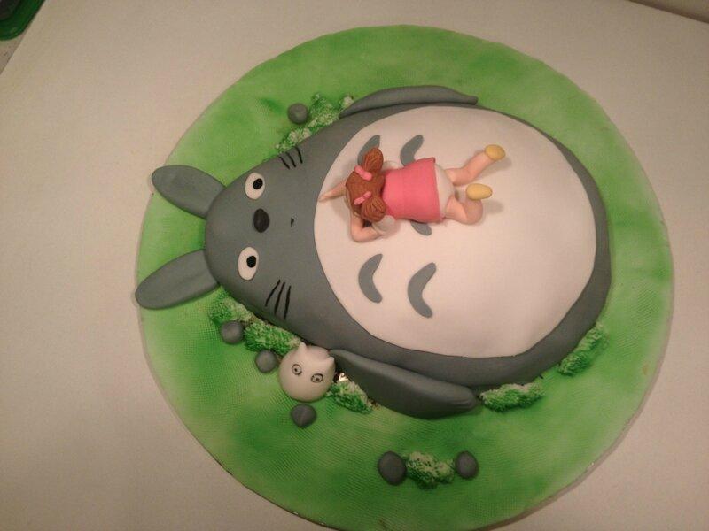 Préférence Gâteau Mon voisin Totoro - les gateaux de ka en 3D RV35