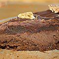 Gâteau au noix et au chocolat, sans gluten et sans lactose