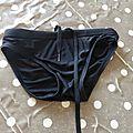Maillot de bain noir 3 ans garçon 0.50€