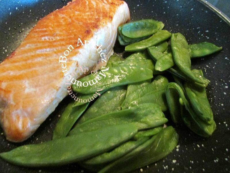 saumon et pois gourmands 004