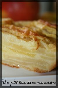 Gâteau invisible pommes2