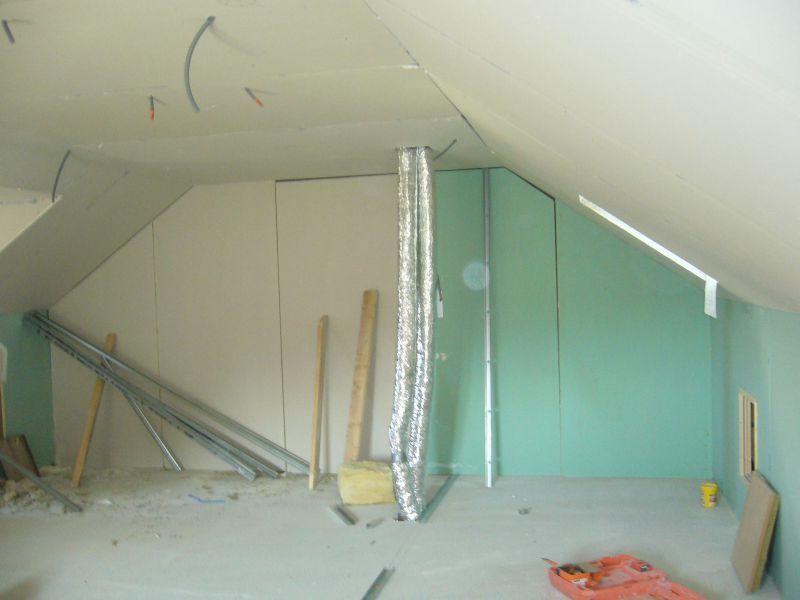 Le placo maisons clair logis notre constructeur en is re 38 for Joint placo plafond