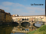 La Toscane pour blog
