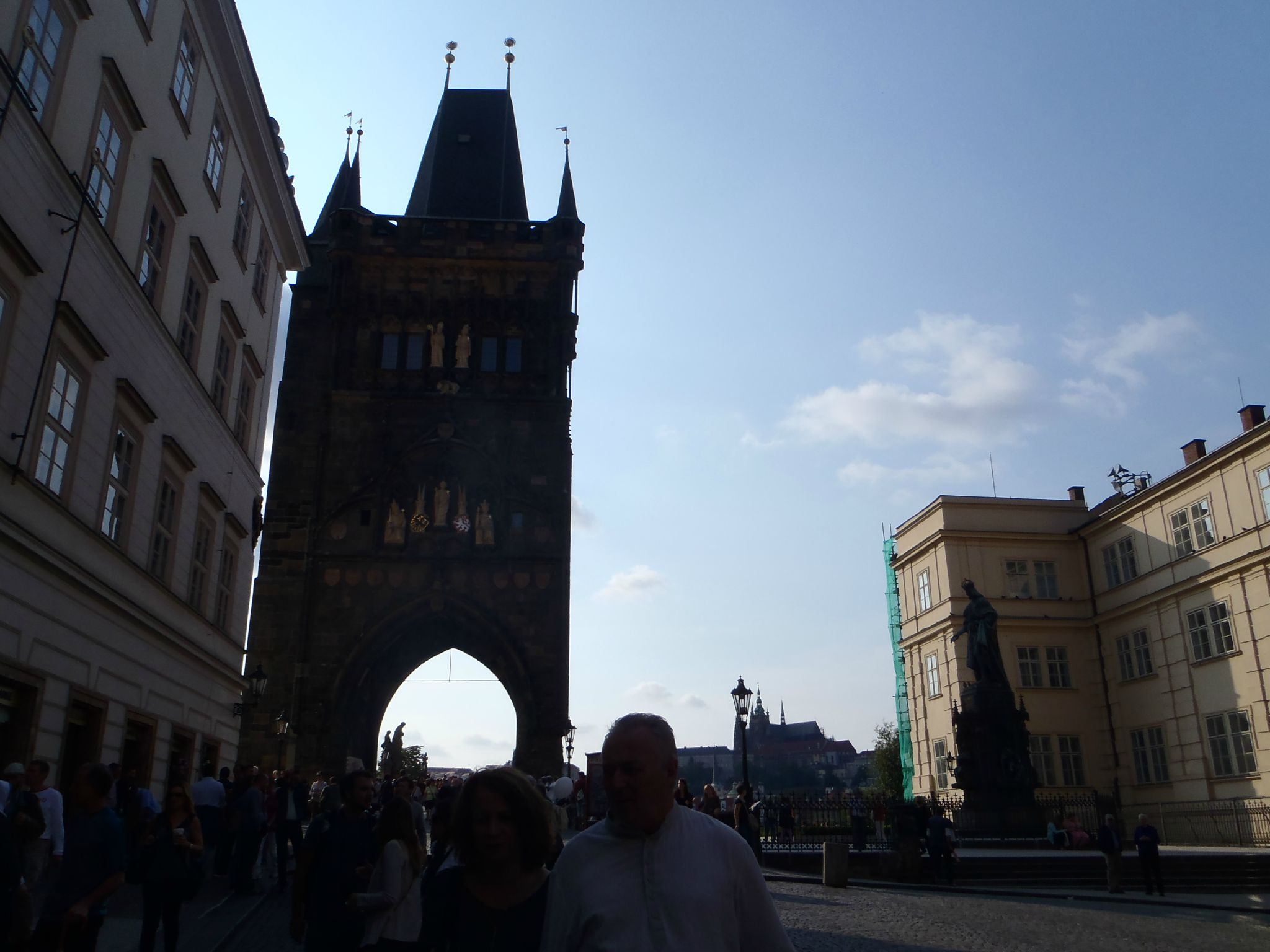 prague - porte nord ville
