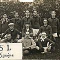 La première équipe de foot du plateau