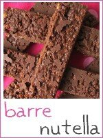 barres crunchy au nutella - index