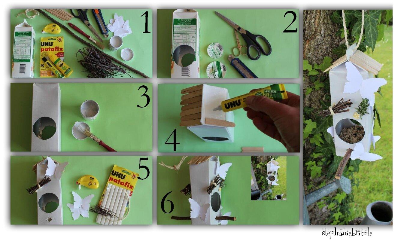Id E Bricolage Recyclage Une Mangeoire Pour Oiseaux St Phanie Bricole