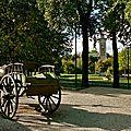 Espace vert parisien : Parc Georges Brassens.