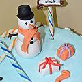 gâteaux Fêtes de fin d'année