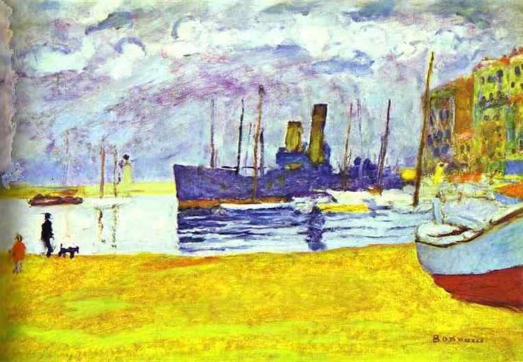 1927 - Port de Cannes