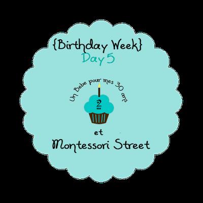 bdweek day5 montessori street