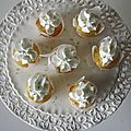 Mini cupcakes au citron vert