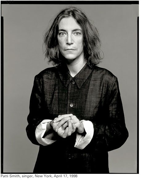 patti smith NY avril 98