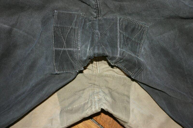 Raccommodage Jeans et pantalons...