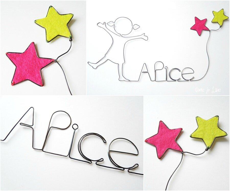 Alice, le prénom d'une petite Merveille