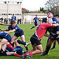 2011-2012, Juniors contre Marmande, 29 octobre