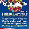 programme Cuture Pride Culture d'Egalit LGBT du Mans 2012