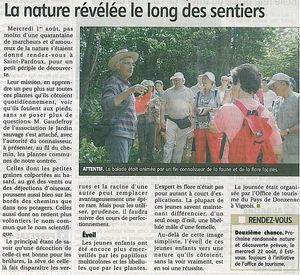 Article rando nature St Pardoux
