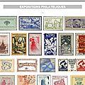 France - vignettes - expositions philateliques (98 pièces).