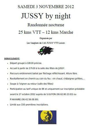 VTT jussy 2012 nocturne