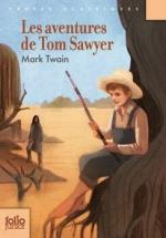 Les aventures de Tom Sawyer couv