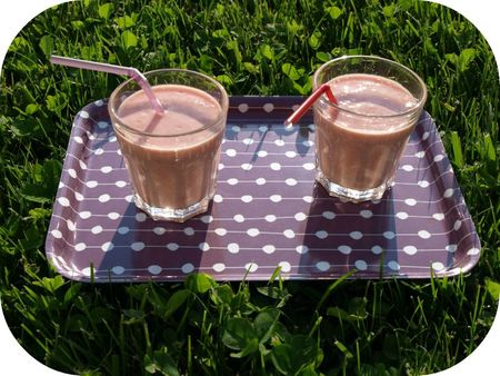 smoothie banane fraise 1