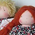 poupon waldorf blond poupée waldorf rousse (3)