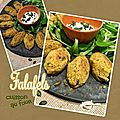 Falafels croquettes pois chiche & fève - cuisson au four